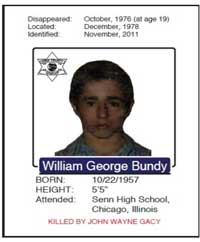 Unidentified Victims of John Wayne Gacy