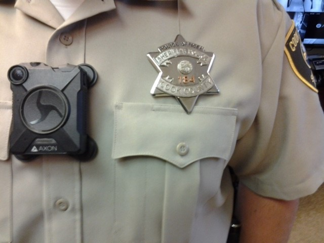 All Cook County Sheriff's Police Officers Trained on Body-Worn Cameras