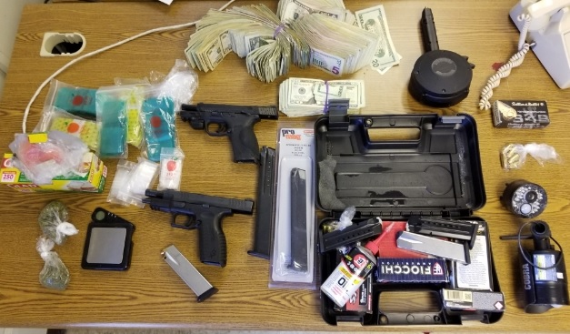 Pair Charged with UUW after Firearms, Ammunition Found