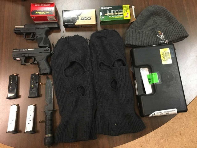 Matteson Man Charged after Sheriff's Police Recover Two Loaded Firearms